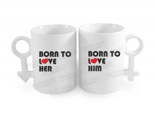 Meilės puodeliai Born to love