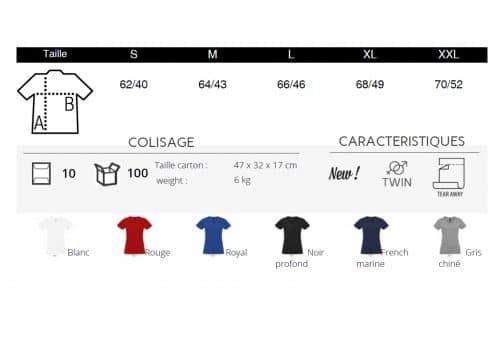 Moteriški marškinėliai V spalvos