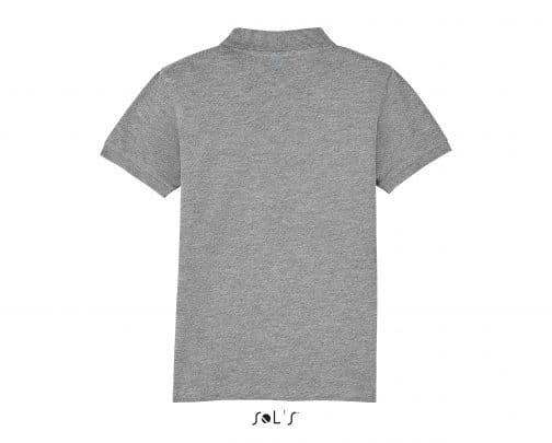 Polo vaikiški marškinėliai nugara