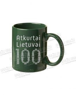 """Puodelis """"Atkurtai Lietuvai 100"""""""