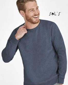 Vyriškas džemperis apvalia apykakle