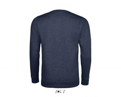 Vyriškas džemperis apvalia apykakle nugara