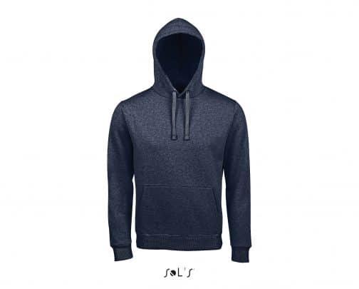Vyriškas džemperis su gobtuvu priekis