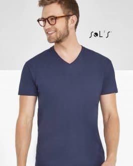 """Vyriški marškinėliai """"V"""" (10vnt.)"""