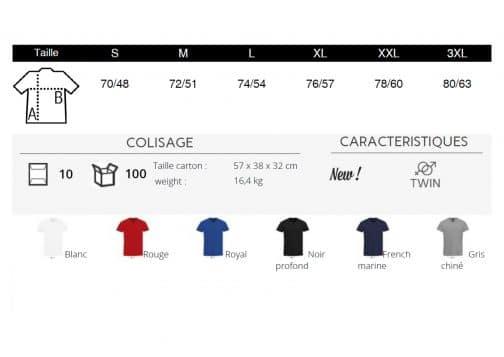 Vyriški marškinėliai V spalvos