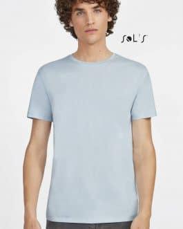 Vyriški marškinėliai apvalia apykakle