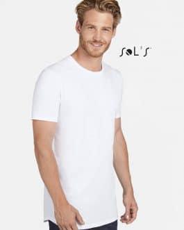 Vyriški prailginti marškinėliai