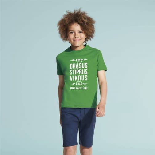 Marškinėliai toks kaip tėtis