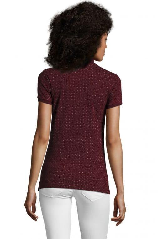 Moteriški polo marškinėliai BrandW nugara