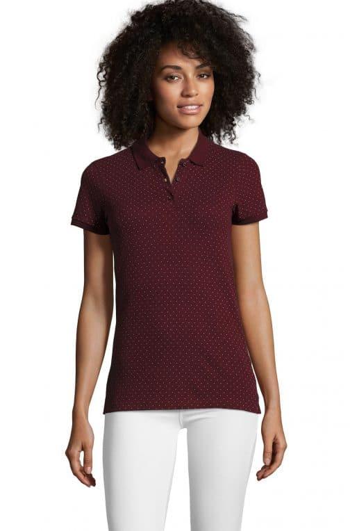 Moteriški polo marškinėliai BrandW priekis