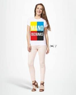 Sublimaciniai moteriški marškinėliai su A3 spauda