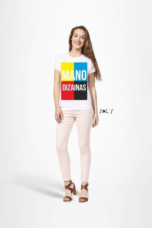 Sublimaciniai moteriški marškinėliai A3