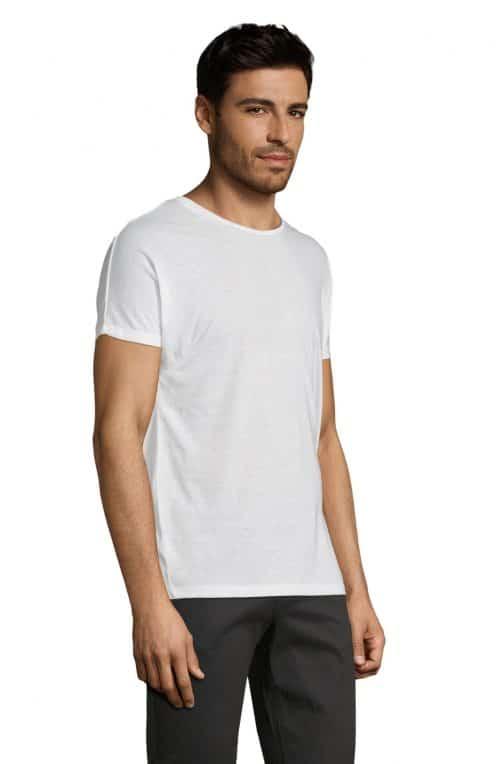 Vyriški sublimaciniai marškinėliai šonas