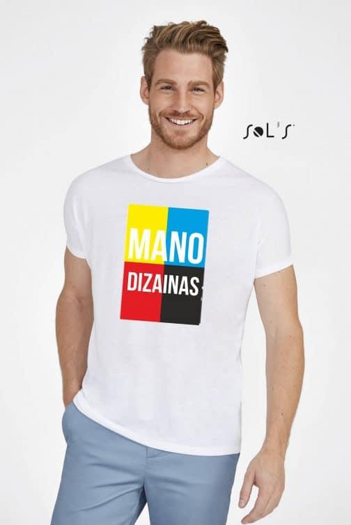 Vyriški sublimaciniai marškinėliai su spauda
