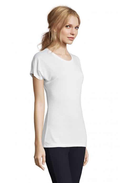 moteriški sublimaciniai marškinėliai šonas