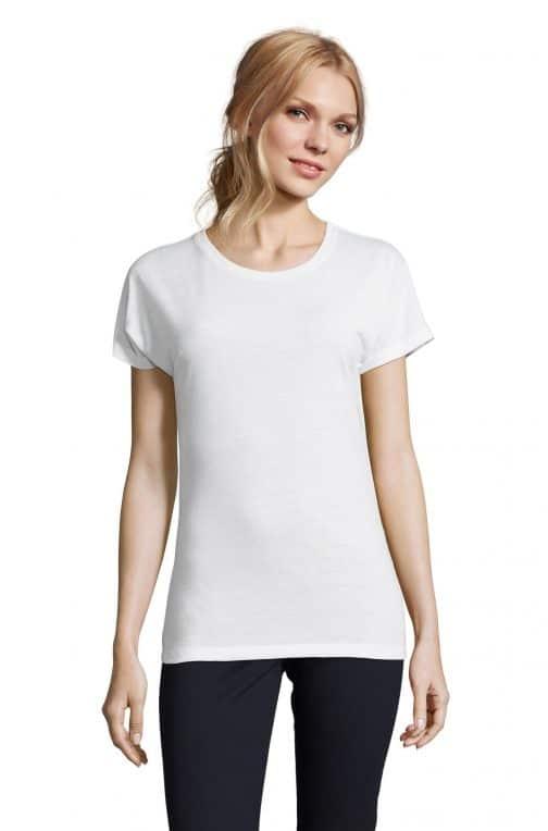 moteriški sublimaciniai marškinėliai priekis