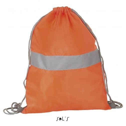 Atšvaitiniai kuprinmaišiai oranžiniai