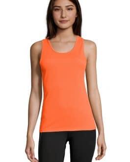 Sportiniai berankoviai marškinėliai moterims