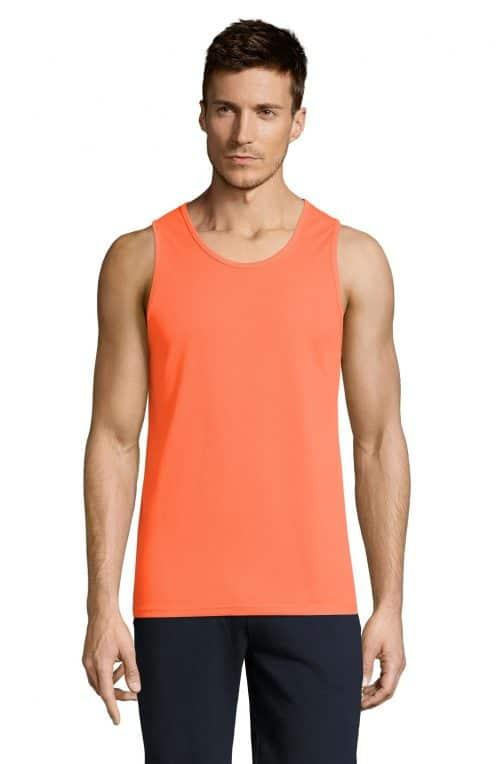 Vyriški sportiniai berankoviai marškinėliai priekis
