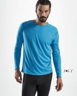 Vyriški sportiniai marškinėliai ilgomis rankovėmis