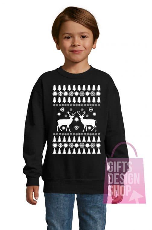 Kalėdiniai vaikiški džemperiai