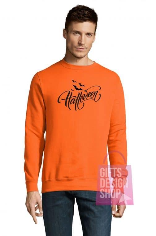 Džemperis Helovino oranžinis