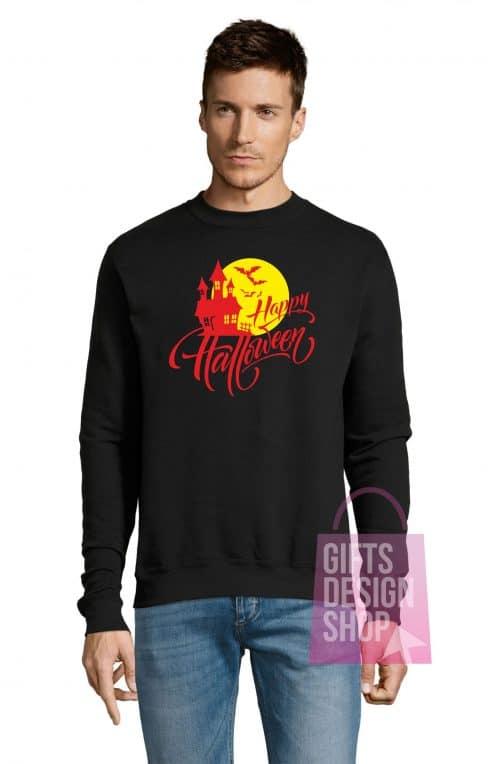Universalus džemperis Helovinui juodas