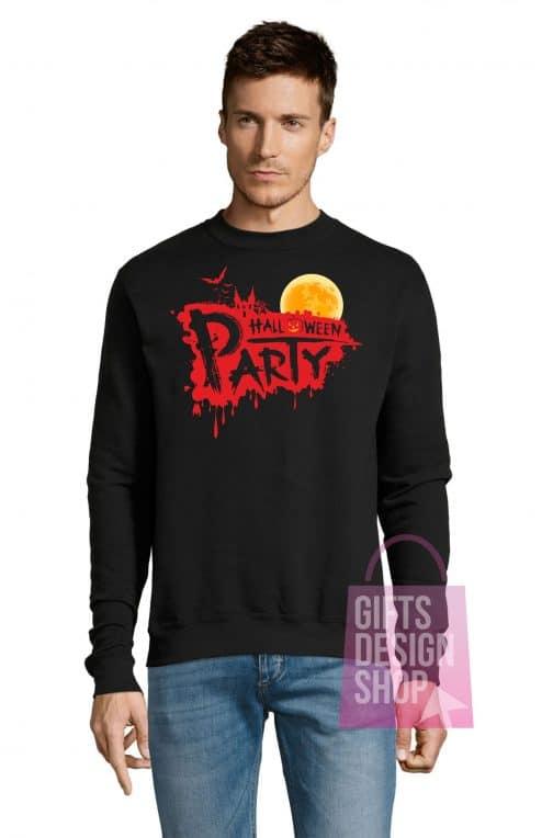 Džemperis helovinui juodas