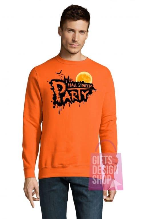 Džemperis helovinui oranžinis