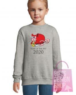 """Kalėdiniai vaikiški džemperiai """"Žiurkės metai"""""""