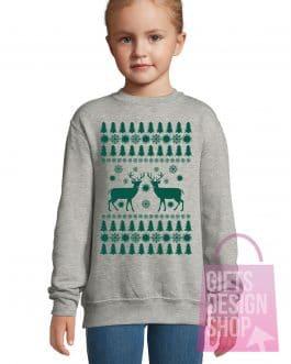 """Kalėdiniai vaikiški džemperiai """"Eglutės"""""""
