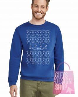 """Kalėdinis džemperis """"HNY 2020"""""""