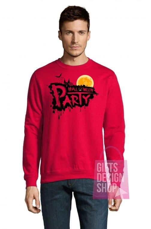 Džemperis helovinui raudonas
