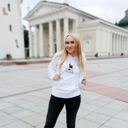 Džemperis I love Vilnius