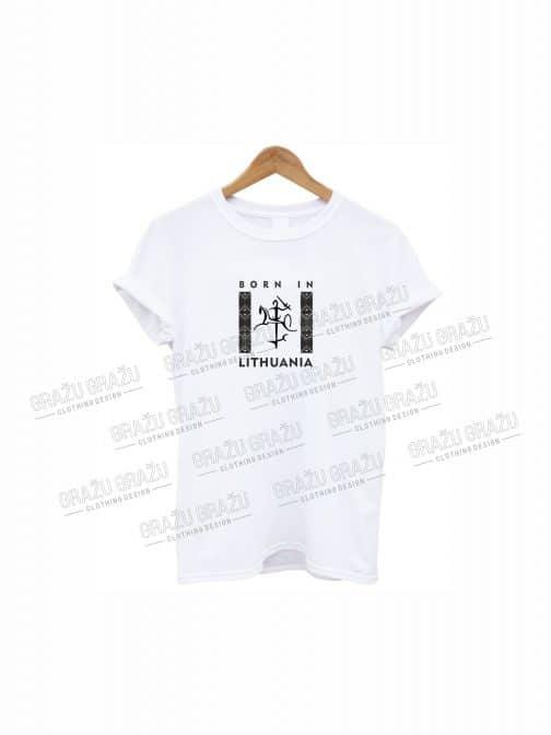 Marškinėliai Born in