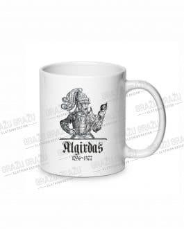 """Sublimacinis puodelis """"Algirdas"""""""