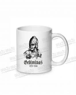 """Sublimacinis puodelis """"Gediminas"""""""
