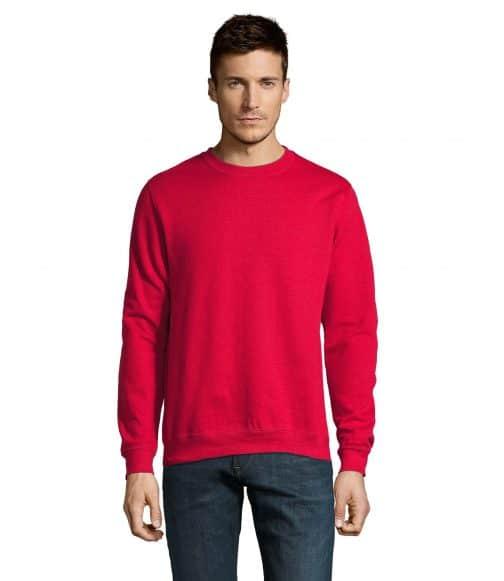 džemperis raudonas