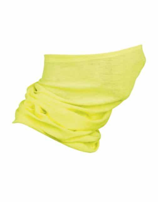Multifunkcinė kaklo mova neoninė geltona