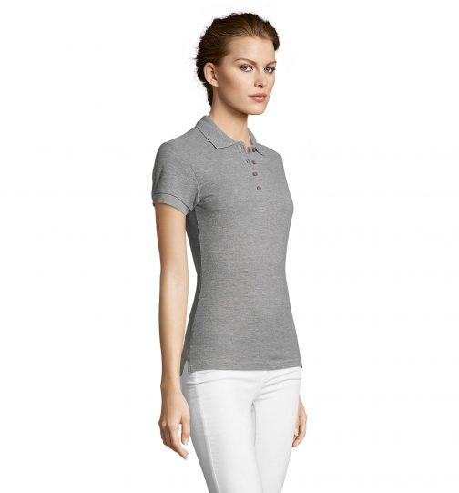 Polo marškinėliai moterims šonas
