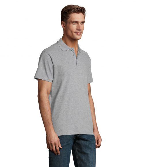 Polo marškinėliai vyrams šonas