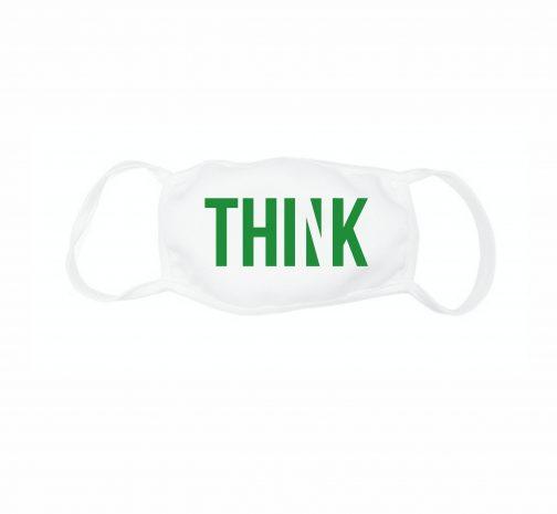 """Veido kaukė """"think"""""""