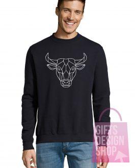 """Kalėdinis džemperis """"3D bulius"""""""
